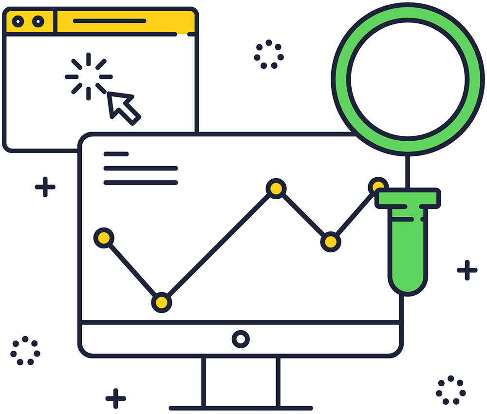 Icon seo monitoring