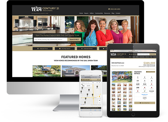 Responsive Real Estate IDX/MLS Websites and Web Design for Agents, Teams, and Brokers